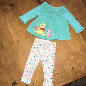 Disney baby girl Winnie the Pooh outfit